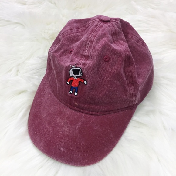 73722acbf13cb RUE 21 Dad Hat With Robot Man Maroon. M 5c40094f03087c5b11ca7805. Other  Accessories ...
